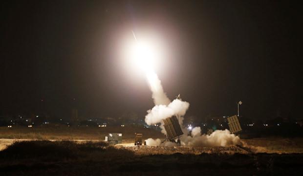 İsrail'e saldırı! Füzeler ateşlendi