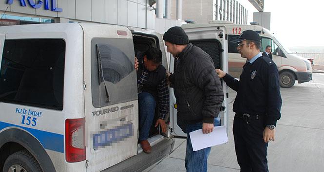 Cezaevinden çıktı, 990 adet uyuşturucu hapla yakalandı