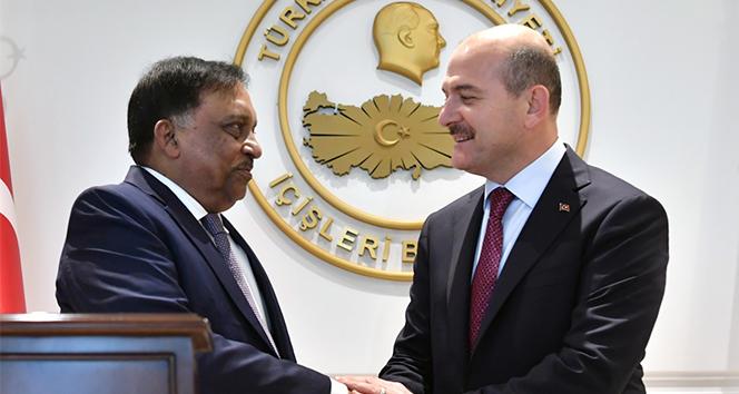 İçişleri Bakanı Soylu, Bangladeşli mevkidaşını ağırladı