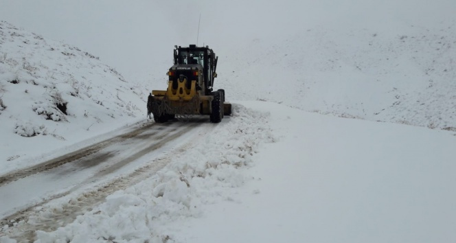 Siirt'te köy yolları ulaşıma kapandı