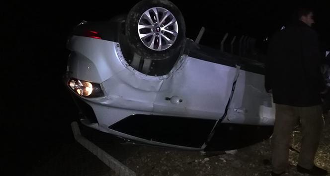 Aynı yolda bir gecede 2 trafik kazası: 5 yaralı