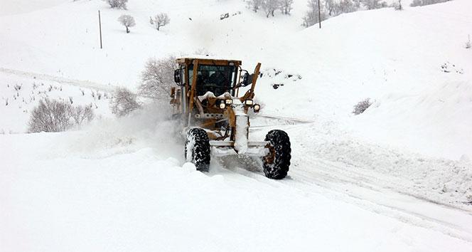Doğu'da kar ve tipi köy yollarını ulaşıma kapadı