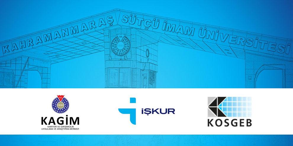 KSÜ-İŞKUR-KOSGEB işbirliği ile yılsonu girişimcilik eğitimleri