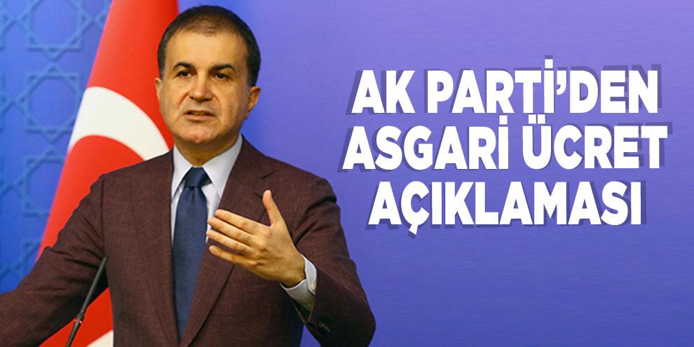 AK Parti'den asgari ücret açıklaması!