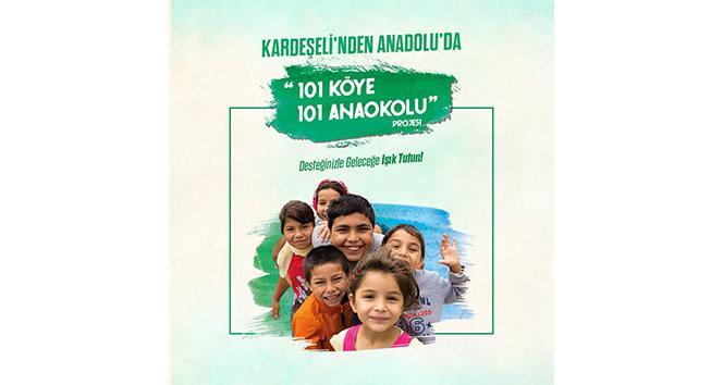 Kardeşeli'nden Anadolu'da 101 köye 101 Anaokulu projesi