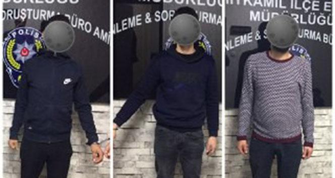 45 bin TL değerinde kombi çalan hırsızlar yakalandı