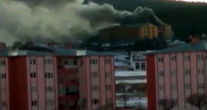 Sarıkamış Kayak Merkezi'nde yangın