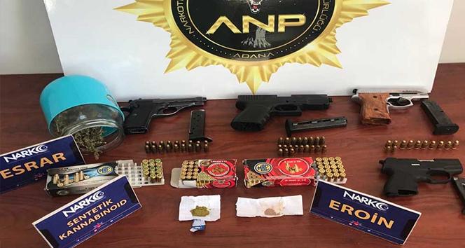 Adana'da 6 uyuşturucu operasyonunda 89 şüpheli yakalandı
