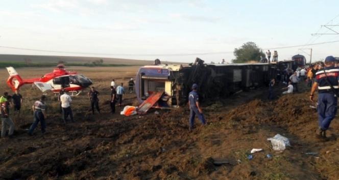 YTÜ'den açıklama: Çorlu'daki kazayla ilgili iddialar asılsız