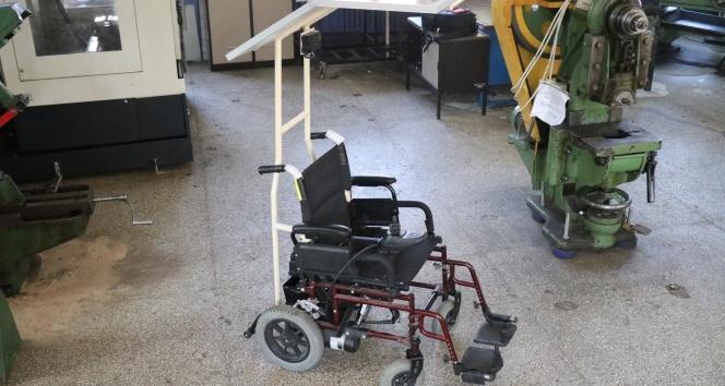 Bolu'da, engelliler için güneş panelli engelli aracı tasarlandı
