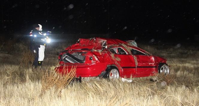 Uzman çavuş trafik kazasında öldü