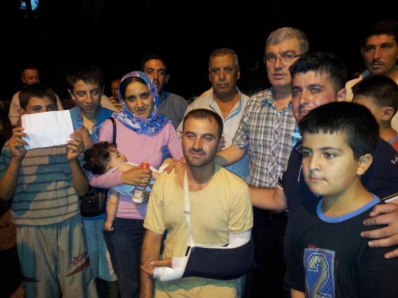 Milletvekilleri, Suriyeli Mültecileri Ziyaret Etti