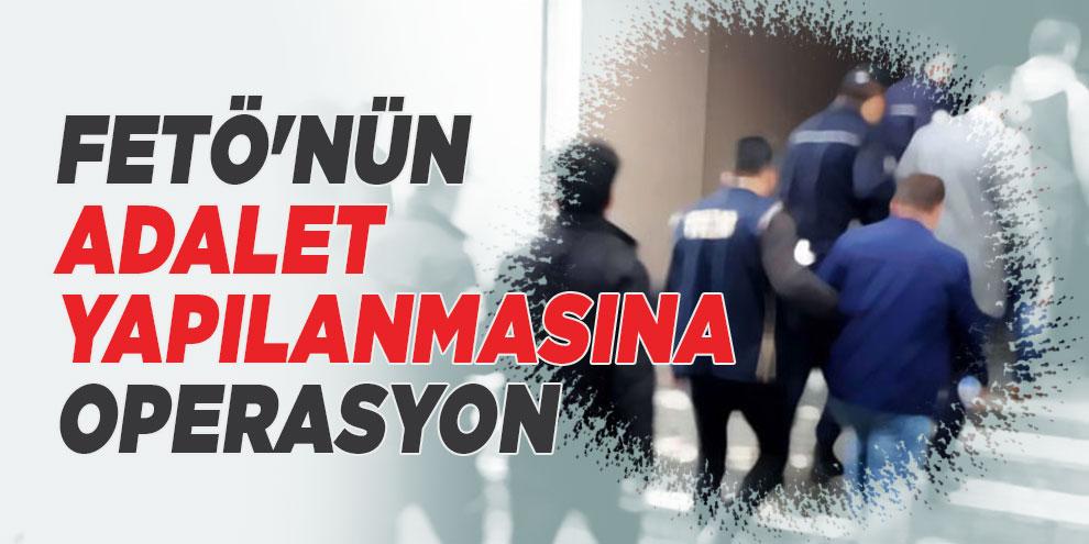 Kocaeli'de FETÖ'nün adalet yapılanmasına operasyon: 30 gözaltı