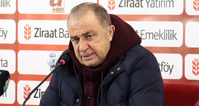 Fatih Terim: 'Rizespor ile içeride oynamak kolay değil'