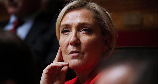 Fransa'da aşırı sağcı partinin lideri Le Pen: '2022'de aday olacağım'