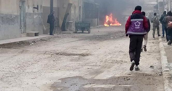 YPG Azez'de füze ve topçu saldırısı düzenledi: 3 yaralı