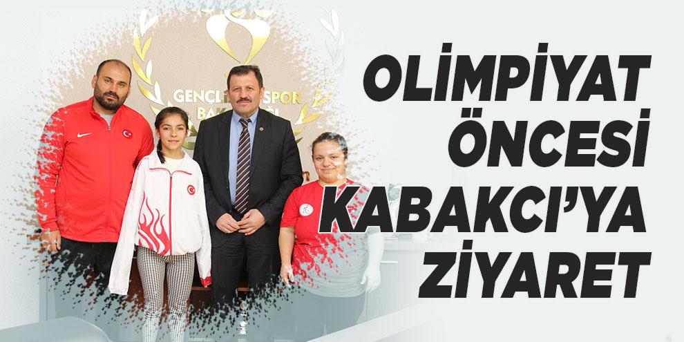 Olimpiyat öncesi Kabakcı'ya ziyaret
