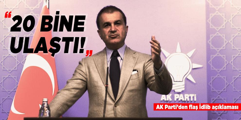 AK Parti Sözcüsü Çelik'ten İdlib açıklaması!