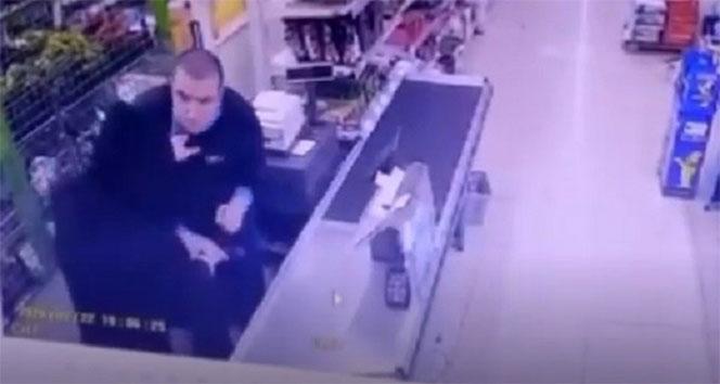İzmir'de silahlı soygun girişimi