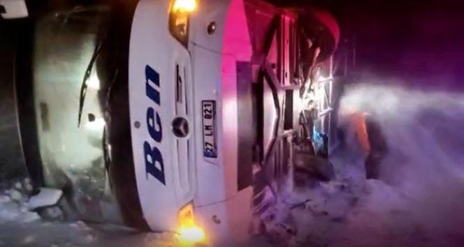 Afyonkarahisar'da korkunç kaza: 37 yaralı