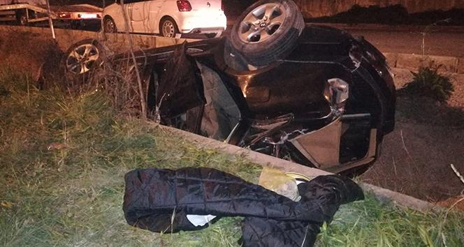 Konak'da trafik kazası: 1'i ağır 3 yaralı