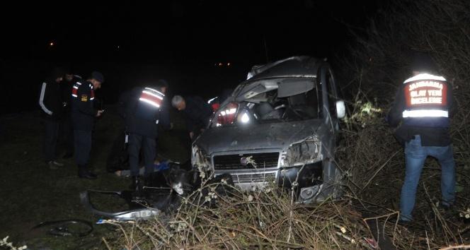 Bafra'da kaza can aldı: 1 ölü, 2 yaralı