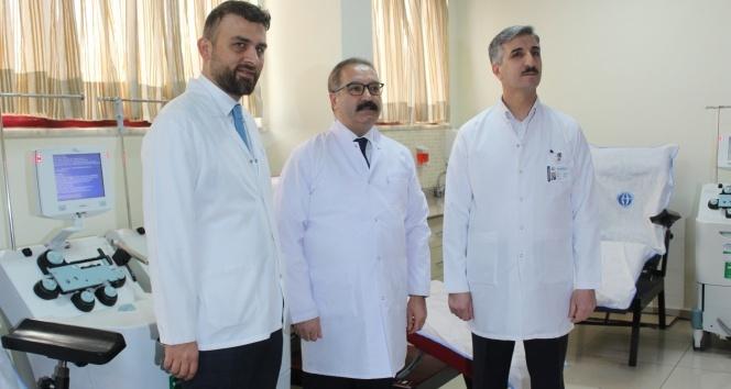 Korona virüs tedavisinde Türkiye'de bir ilk