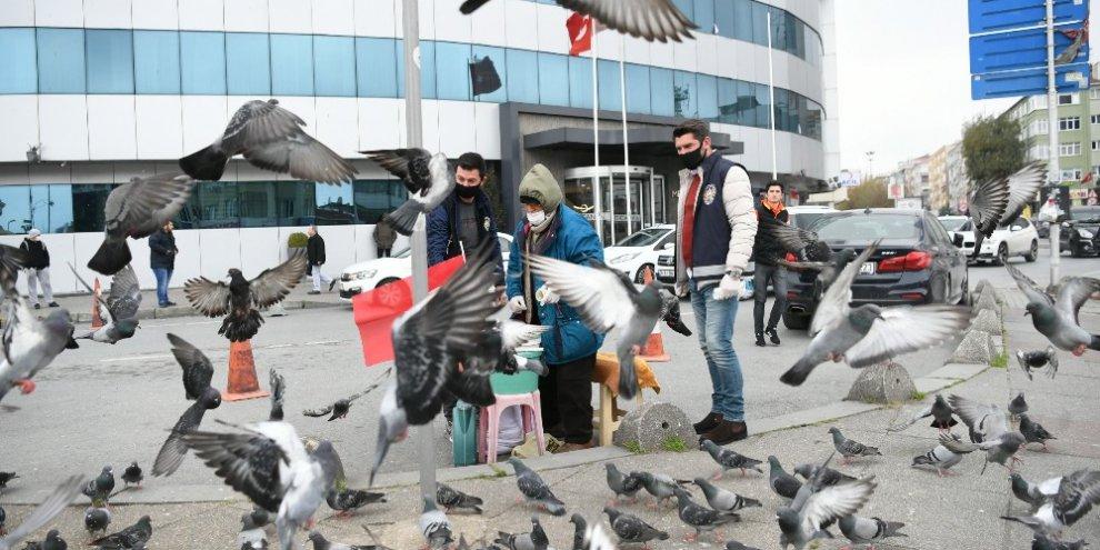 65 yaşındaki Kamil Çakmakçı, kuşları için canını hiçe saydı