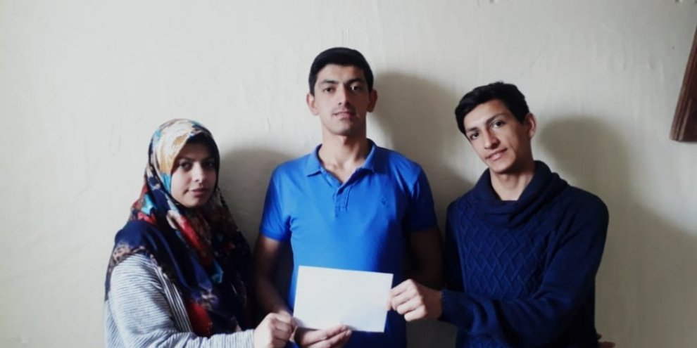 Okul harçlıkları ile kampanyaya destek sağladılar