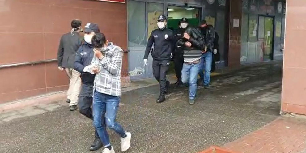 İş yerlerinden hırsızlık yapan 6 kişi yakalandı