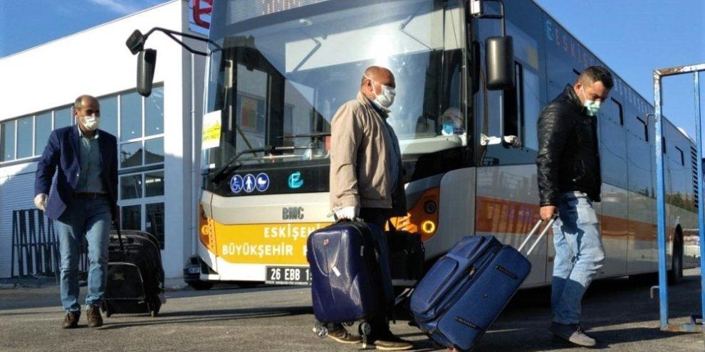 Irak'tan gelen 236 Türk vatandaşı yurda yerleştirildi