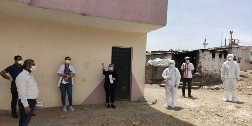 Bir köy korona virüs tedbirleri kapsamında karantinaya alındı