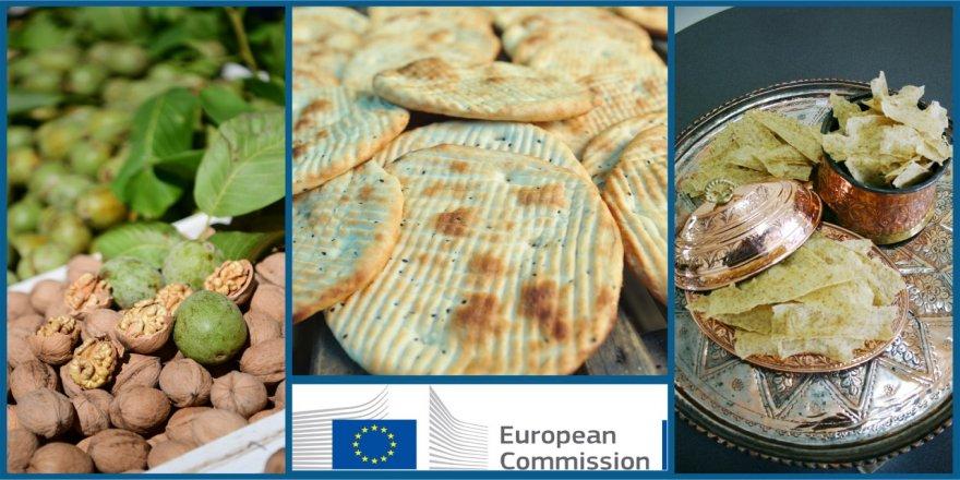 Maraş Çöreği, Çağlayancerit Cevizi ve Maraş Tarhanası Avrupa Yolunda