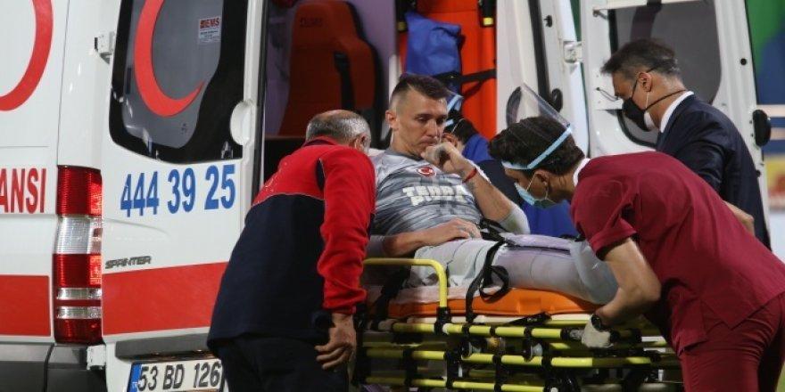 Galatasaray'da şok! Muslera'nın ayağında 2 kırık tespit edildi