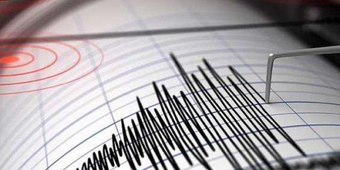 Akdeniz'de Datça açıklarında 4,5 büyüklüğünde bir deprem meydana geldi