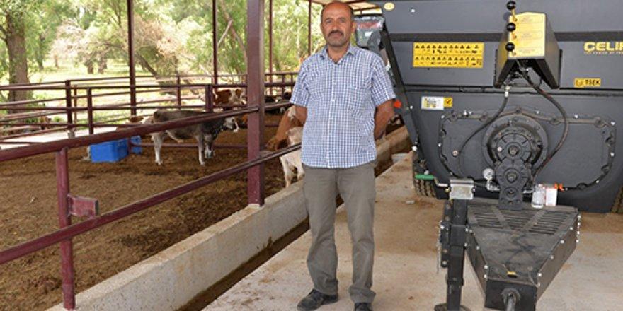 Kahramanmaraş'ta Kırsal Kalkınma Yatırımları İle Modern Hayvancılığa Geçti