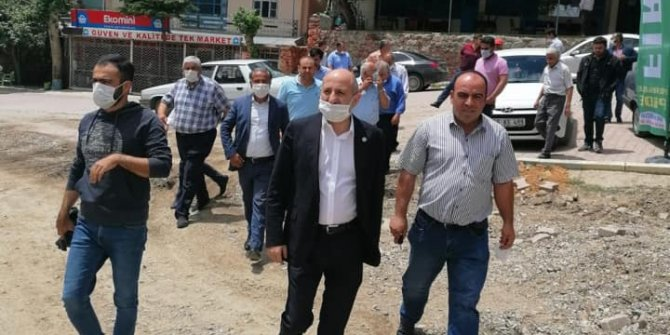 """Chp Kahramanmaraş Milletvekili Ali Öztunç: """"Hodri Meydan"""" dedi"""