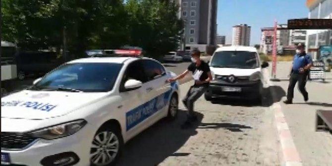 Kahramanmaraş'ta polis ekipleri 35 öğrenciyi sınava yetiştirdi