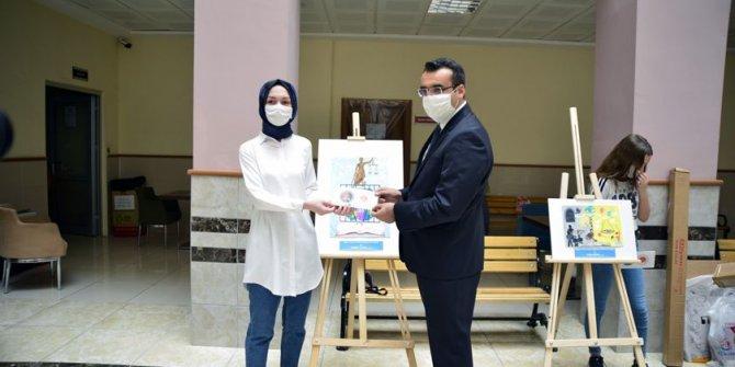 """""""Adalet"""" temalı resim yarışmasının ödülleri sahiplerini buldu"""
