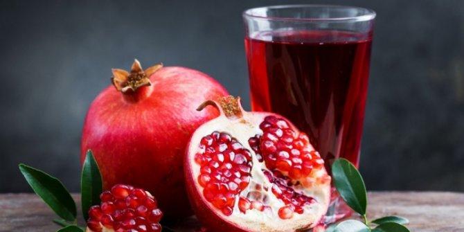 Sağlığımız için en güçlü antioksidan nar suyu!