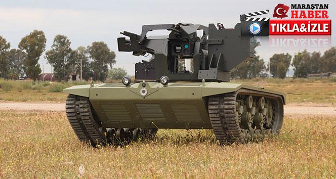 Türkiye'nin ilk insansız mini tankı göreve hazır