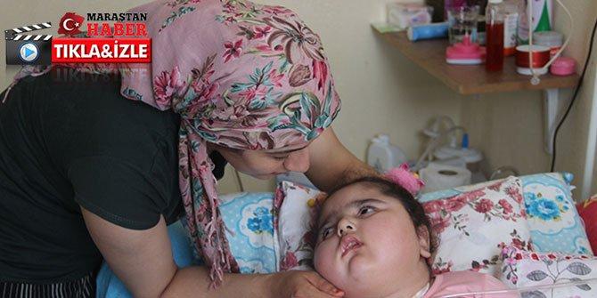Bademcik ameliyatından sonra bitkisel hayata giren minik kız yardım bekliyor