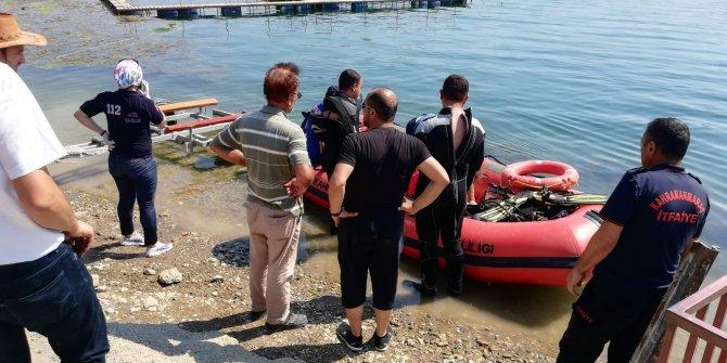 Kahramanmaraş'ta baraj gölünden kurtarılan genç hayatını kaybetti