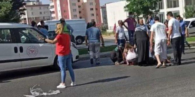 Kahramanmaraş'ta yayaya çarpan motosiklet sürücüsü öldü