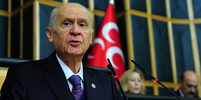 MHP Genel Başkanı Bahçeli'den Baro açıklaması!