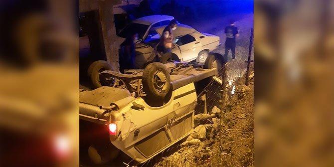 Kahramanmaraş'ta takla atan otomobilin sürücüsü hayatını kaybetti