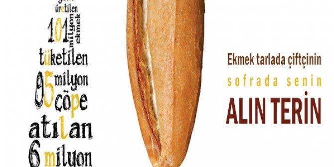 Ekmek israfını önleme kampanyası başlatıldı