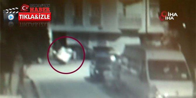 Vicdansız hırsızlar engelli gencin arabasını parçalayıp çaldılar