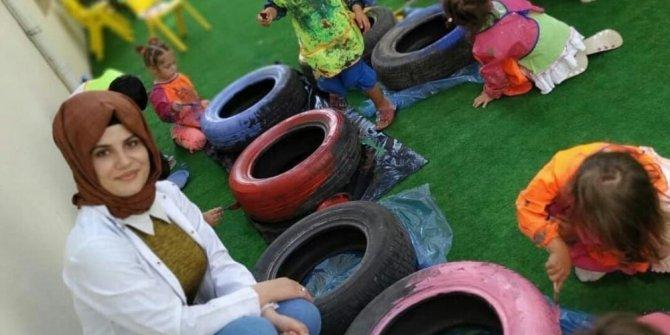 Kahramanmaraş'ta çocuklar sanat aktiviteleriyle sosyalleşiyor