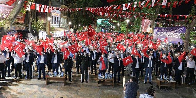 Kahramanmaraş'ta 15 Temmuz Demokrasi ve Milli Birlik Günü!